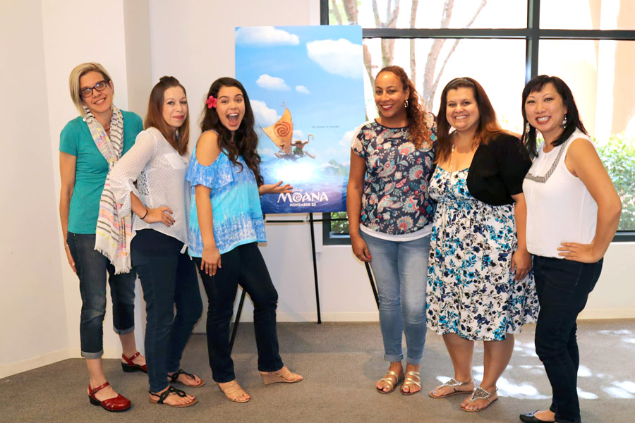 Cookies & Clogs | It was such a blast during our Disney's Moana interview with Auli'i Cravalho and her mother Puanani about the role of Moana. Peek into the tear-inducing chat with exclusive insights and viewpoint from a daughter and parent.