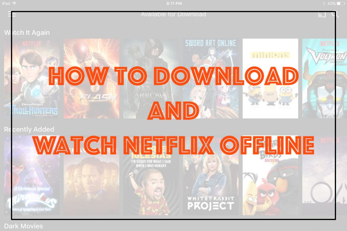 Cookies & Clogs | Find out how to download movies and tv shows to watch Netflix offline. Also find some example titles available for download. The service is free for members.