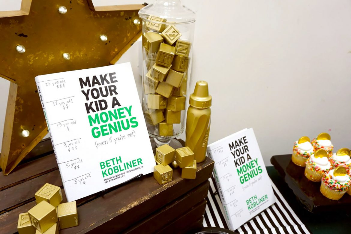 "Cookies & Clogs | It can be tough teaching kids about money. ""Make Your Kid a Money Genius (Even If You're Not)"" by Beth Kobliner offers easy tips and tricks to helping kids ages 3 to 23. Also, check out Beth Kobliner's answers during our live question and answer session interview event."