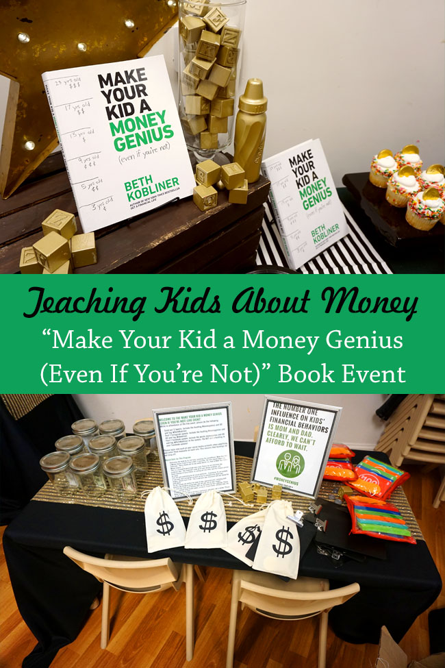 "Cookies & Clogs | It can be tough teaching kids about money. ""Make Your Kid a Money Genius (Even If You're Not)"" by Beth Kobliner offers easy tips and trips to helping kids ages 3 to 23. Also, check out Beth Kobliner's answers during our live question and answer session interview event."