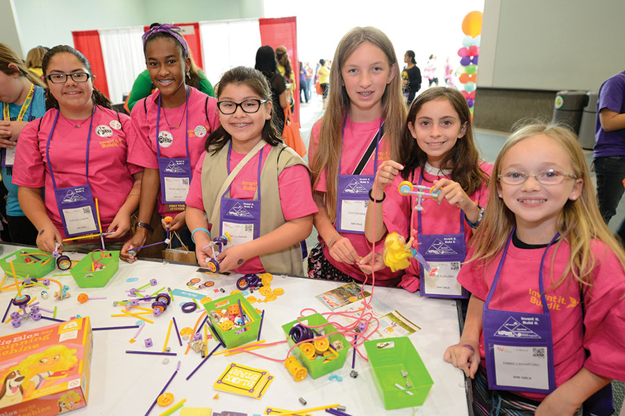 Cookies & Clogs | Register for the We Local & SWENext DesignLab San Jose 2017 on Saturday, February 25, 2017 at the Marriott in San Jose, CA. The event is open to middle schoolers and encourages hands-on learning for girls in STEM education.