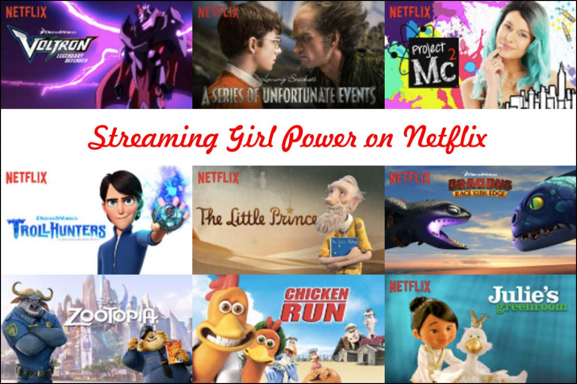 Cookies & Clogs | In honor of International Women's Day which was on March 8th, here are nine tv shows and movies which feature strong female leads to empower girls to dream big and work hard.