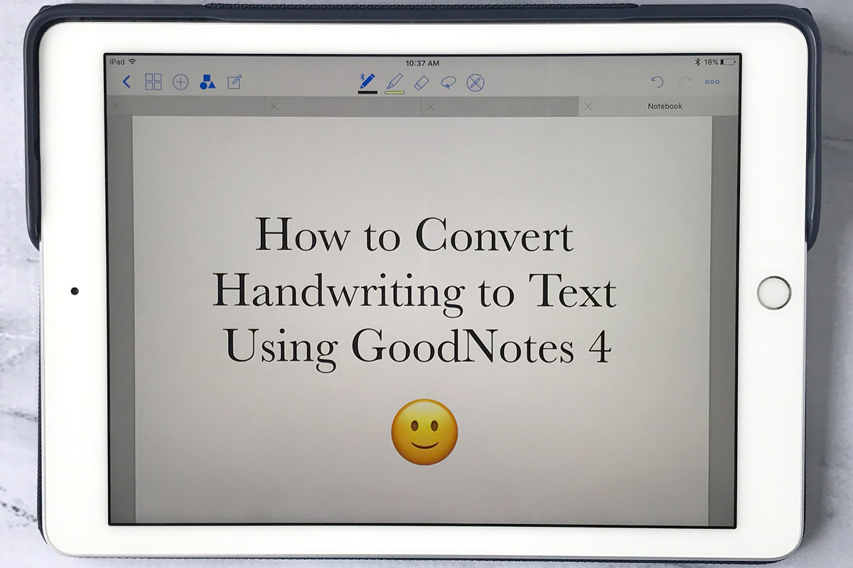 Best handwriting app for ipad text conversion