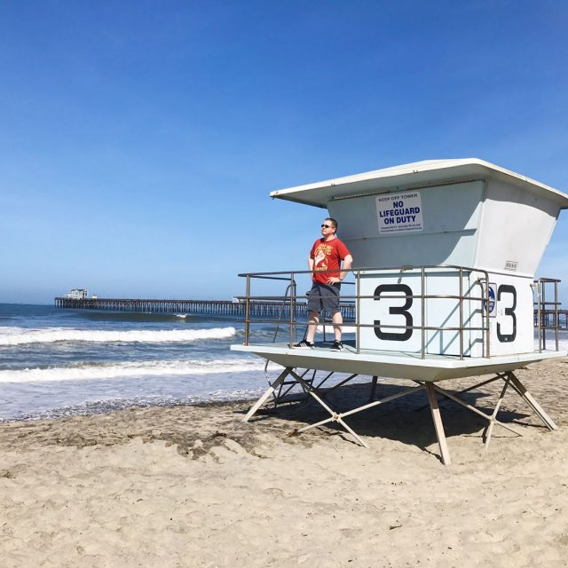 The weather was perfect during our visit to Oceanside !hellip