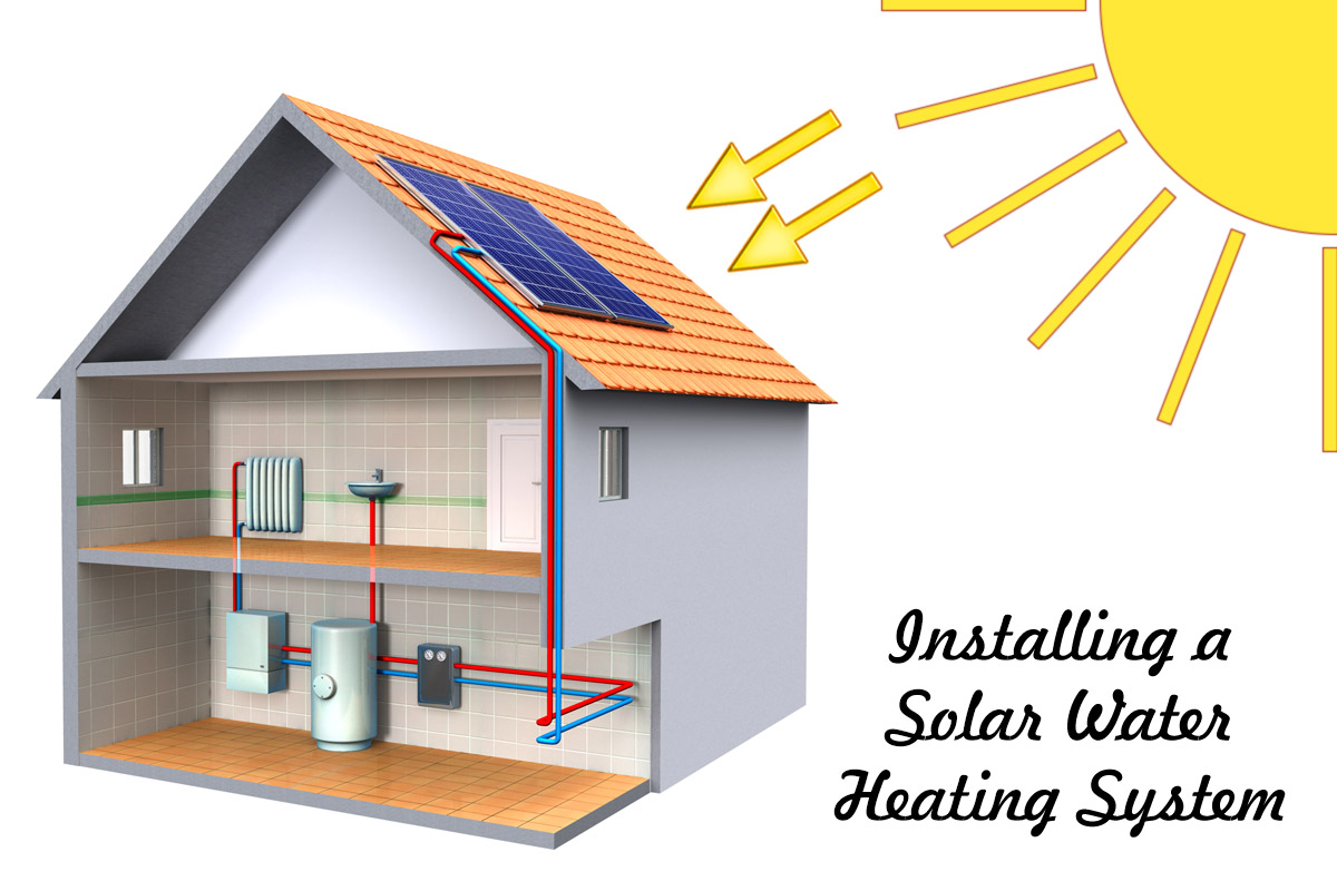 Why you should consider installing a solar water heating for Home heating installation