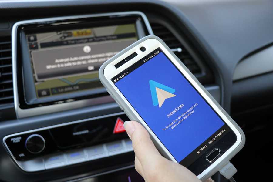 2018Hyundai Sonata Android Auto