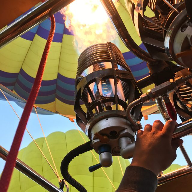 Join us on our hot air balloon ride! Watch thehellip