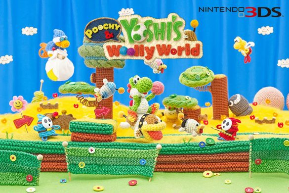 Cookies & Clogs | Poochy & Yoshi's Woolly World for Nintendo 3DS game review for families with kids.