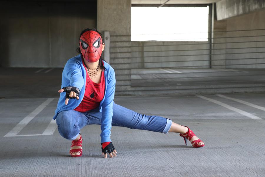 Spiderman spider template
