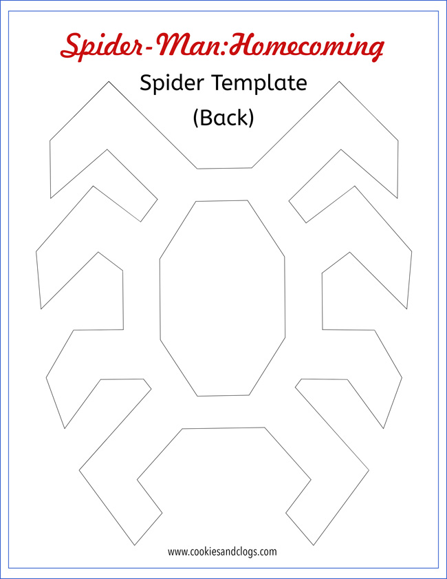 how to make an easy spider man diy outfit w printable spider template