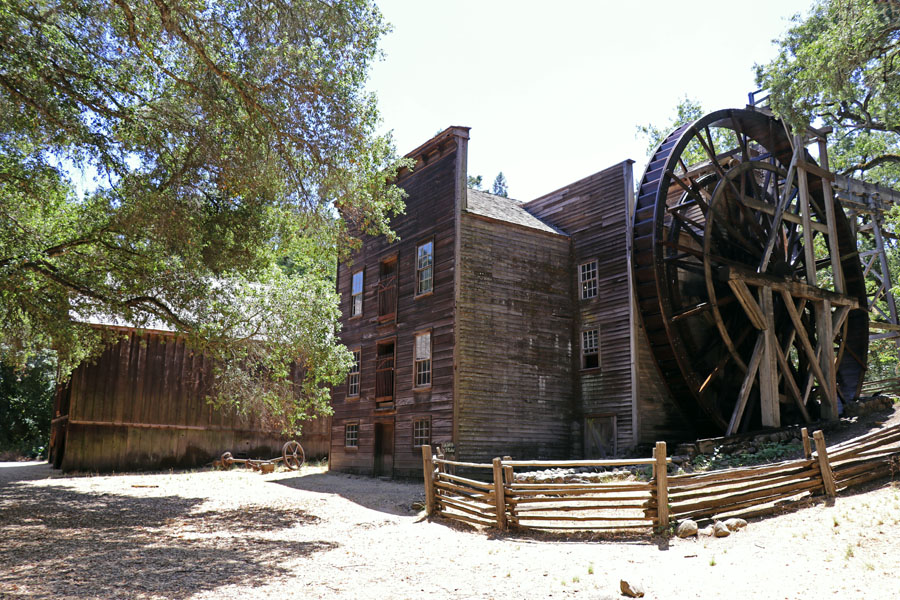 11 Things to Do in Napa, CA that Don't Involve Drinking Wine - Bale Grist Mill State Historic Park