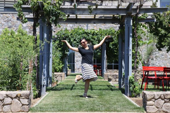 11 Things to Do in Napa, CA that Don't Involve Drinking Wine - Posing at CIA at Copia