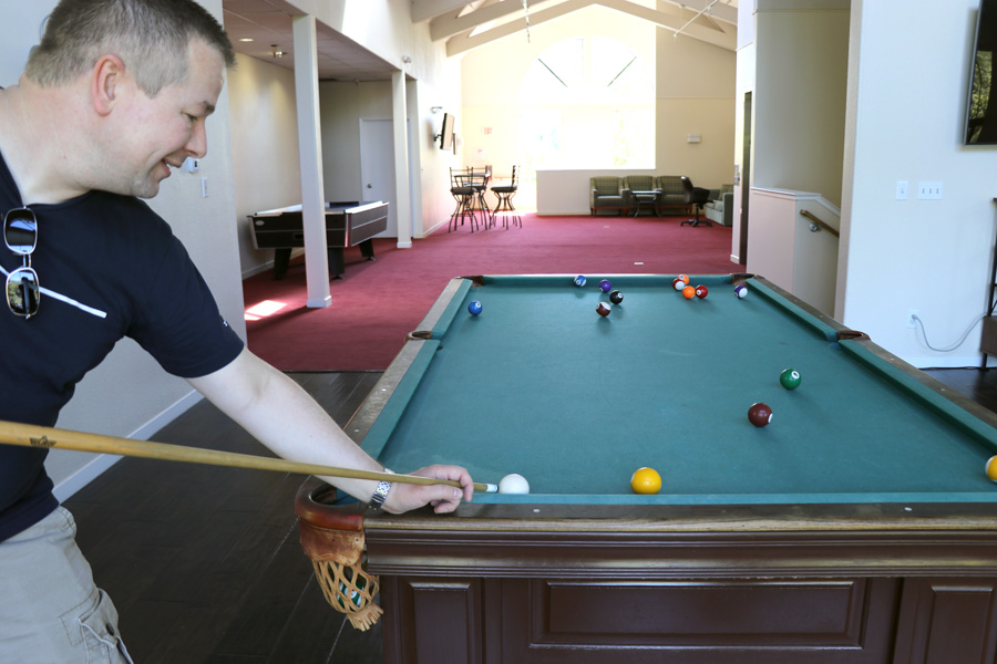11 Things to Do in Napa, CA that Don't Involve Drinking Wine - RiverPointe Napa Valley Resort Recreation Room Billiards and Air Hockey