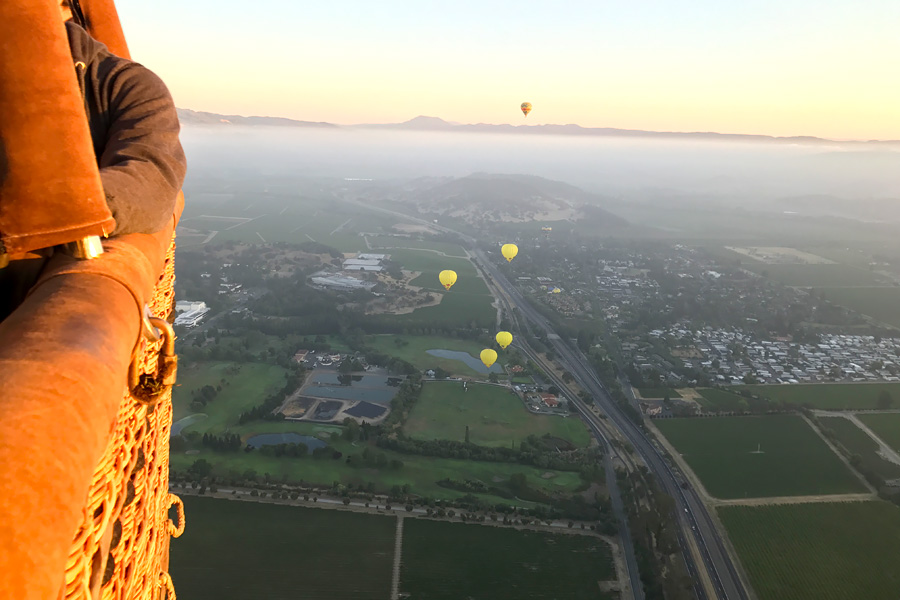 11 Things to Do in Napa, CA that Don't Involve Drinking Wine - Napa Valley Balloons Hot Air Balloon Ride