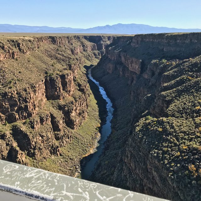 Not far from Taos is the Rio Grande Gorge Bridgehellip