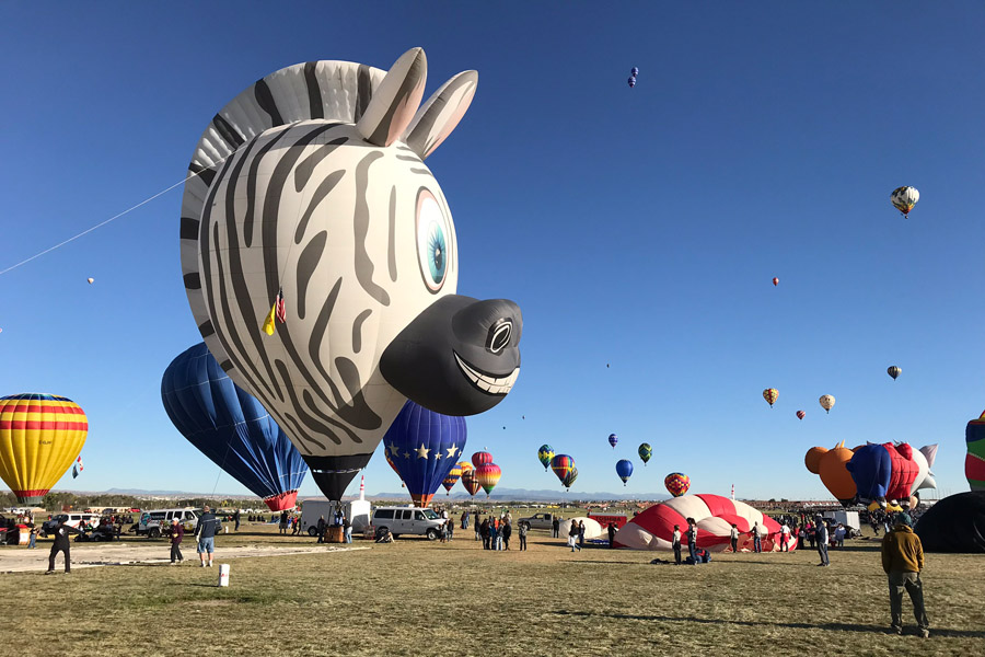 Attending the Albuquerque International Balloon Fiesta FAQ & Tips