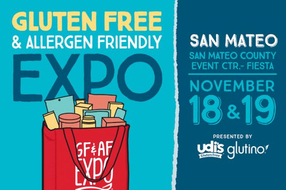Gluten Free & Allergen Friendly Expo in San Mateo, CA November 18 & 19, 2017