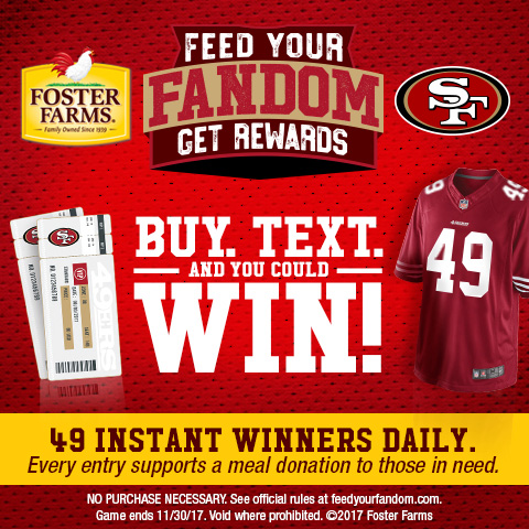 Football | Cheer for the NFL 49ers with these easy gluten free Game Day snacks and enter to win prizes at Find Your Fandom.
