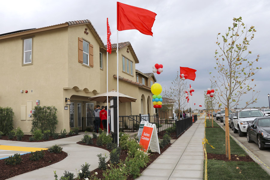 Tour new homes in Mountain House CA — Inspirato model homes in Cordes Village.