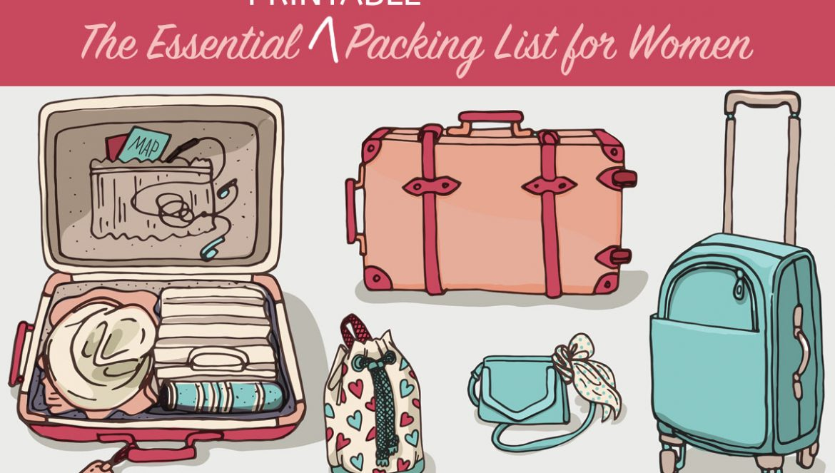 Essential Printable Packing List for Women