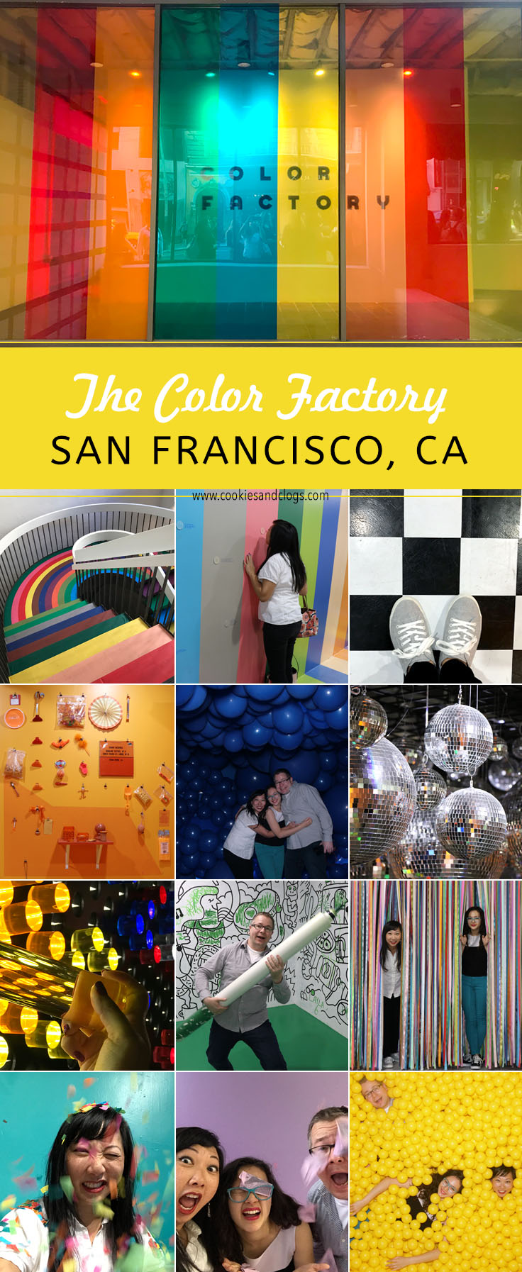 What you need to know about visiting the color factory in for San francisco color factory