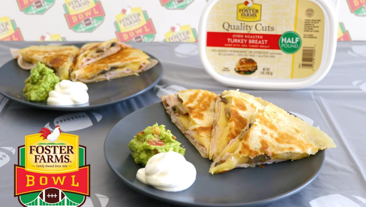 College Football Game Day Gluten-Free Quesadillas & Chili Cheese Fries