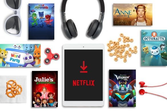 Download Netflix Shows to Take the Stress Out of Family Travel
