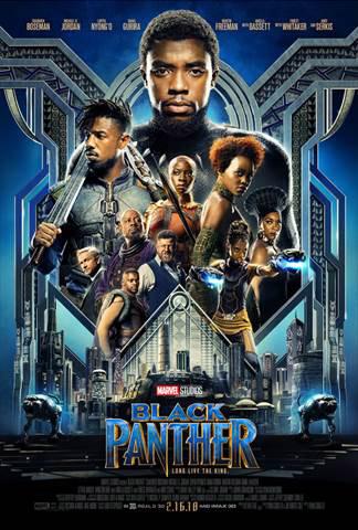 2018 Disney Movies Black Panther Poster