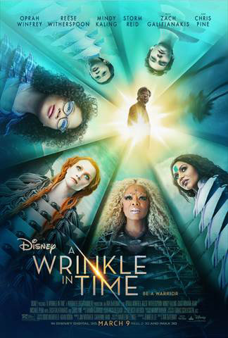 2018 Disney Movies A Wrinkle in Time Poster