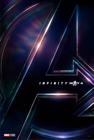 2018 Disney Movies Avengers Infinity Wars Part 1 Poster