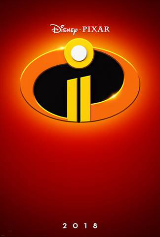 2018 Disney Movies Incredibles 2 Poster