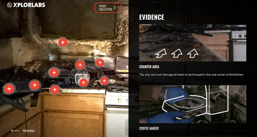 UL Xplorlabs Fire Forensics: Claims and Evidence science STEM classroom or homeschool unit / lesson plan