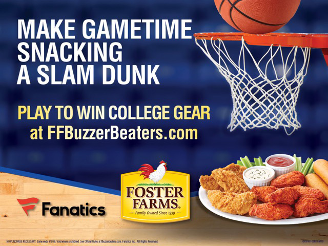 College Basketball Party Snack Ideas & Game Day Decorations — Foster Farms Buzzer Beaters