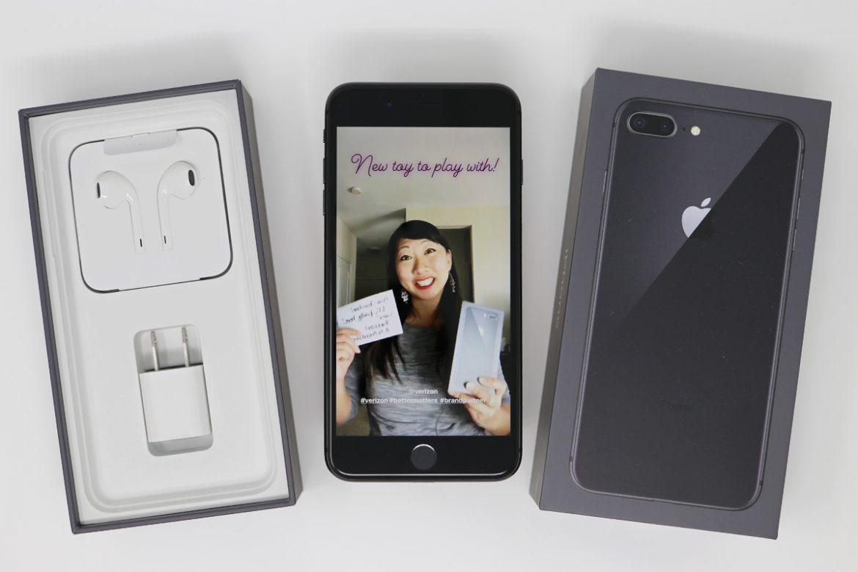 2018 Influencer Program for Verizon w/ iPhone 8 Plus announcement