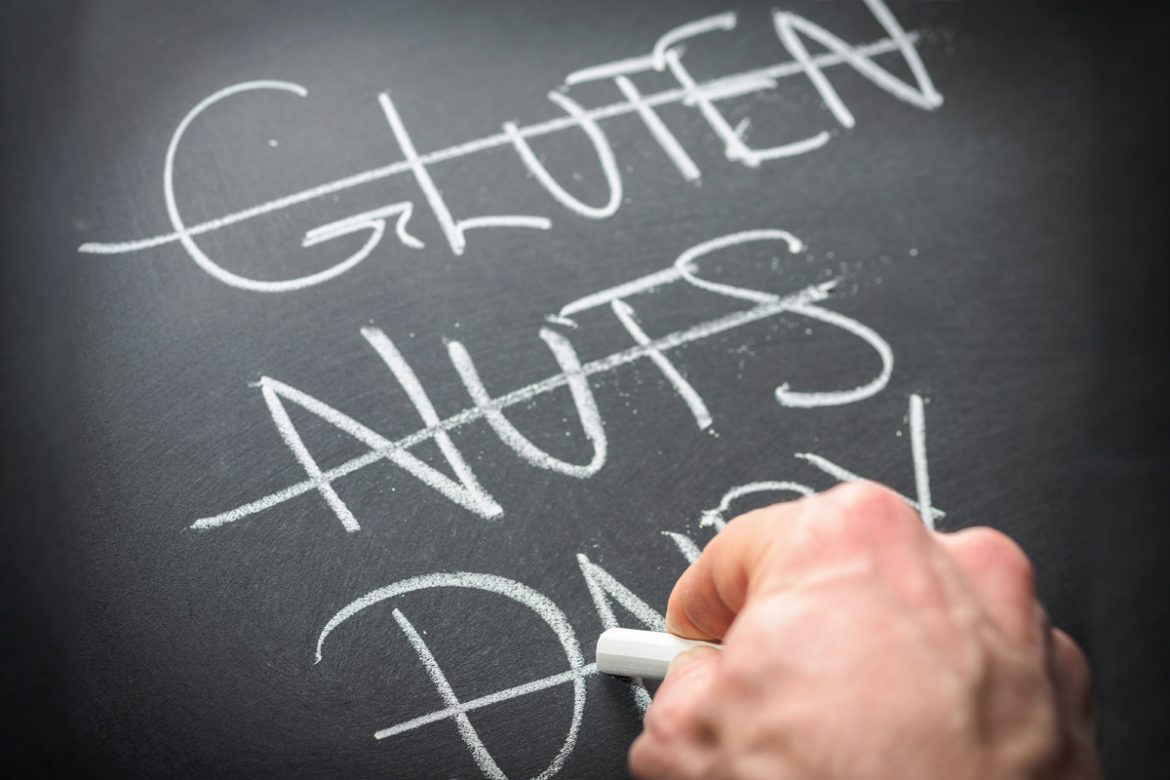 Dealing with food allergies / food sensitvities - gluten free, dairy free, soy free, corn free