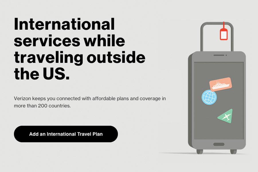 International Travel Tips : Use your cell phone / mobile devices internationally with Verizon TravelPass.