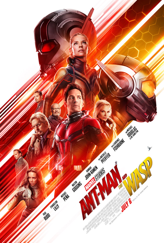 Newest Marvel's Ant-Man and the Wasp trailer 2 and poster now out. July 6, 2018 release date.