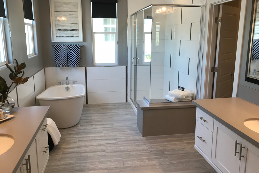 May 2018 Grand Opening of New Homes in Mountain House, CA — Cascada by Woodside Homes neighborhood and model homes to tour.