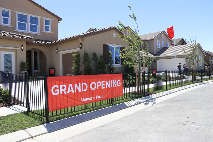 May 2018 Grand Opening of New Homes in Mountain House, CA — Wellington by Richmond American Homes neighborhood and model homes to tour.