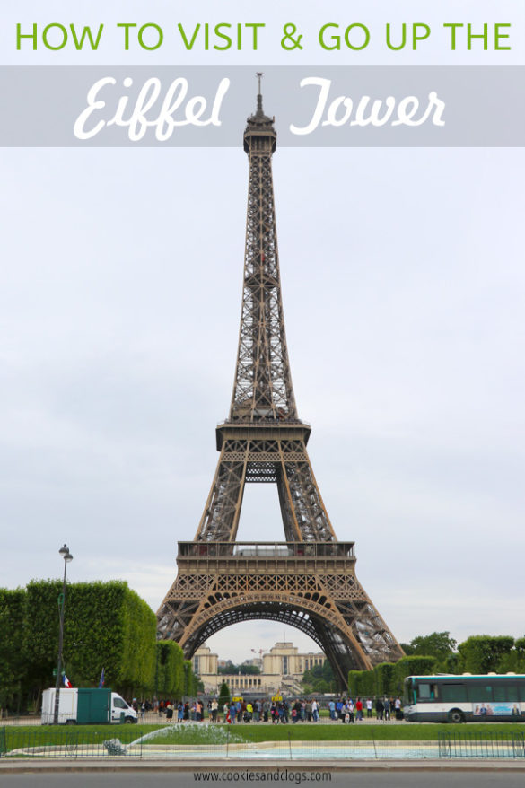 Paris Travel Guide: How to visit the top of the Eiffel Tower tips in Paris France