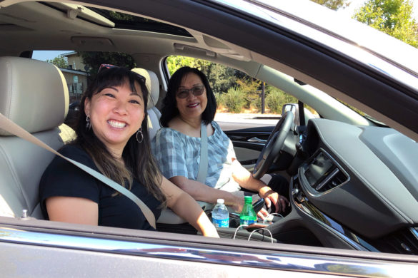 Mother Daughter Road Trip to Monterey in the 2018 Buick Enclave