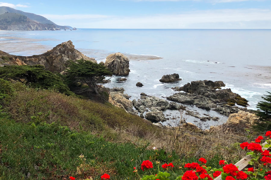 Mother Daughter Road Trip to Monterey in the 2018 Buick Enclave - Rocky Point Restaurant scenic overlook