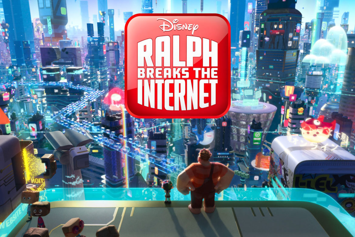 New Wreck-It Ralph 2 Ralph Breaks the Internet Trailer and Poster from Walt Disney Animation November 21 2018 Release Date