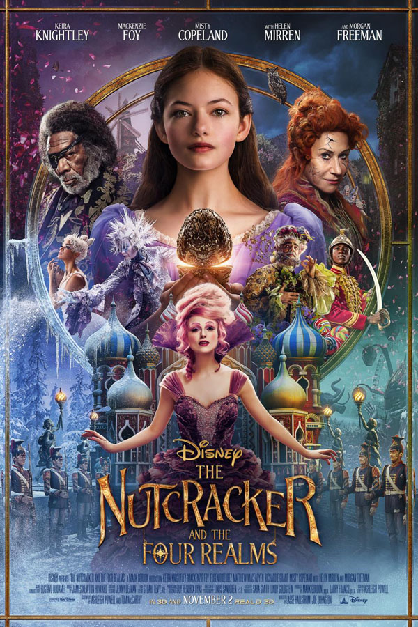Walking the red carpet at the Nutcracker and the Four Realms Premiere | Release Date November 2, 2018