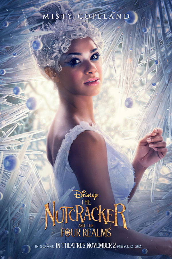 Exclusive interview with Misty Copeland of the American Ballet Theatre as the Ballerina in The Nutcracker and the Four Realms