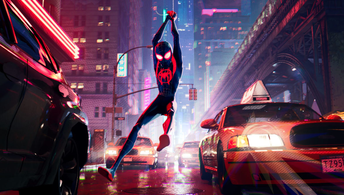 Sony Pictures and Marvel Spider-Man: Into the Spider-Verse Junket screening and interview details with trailer and poster.