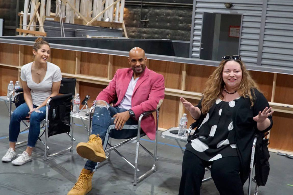 Station 19 set visit plus exclusive interview with Stacy McKee, Boris Kodjoe, and Jaina Lee Ortiz.