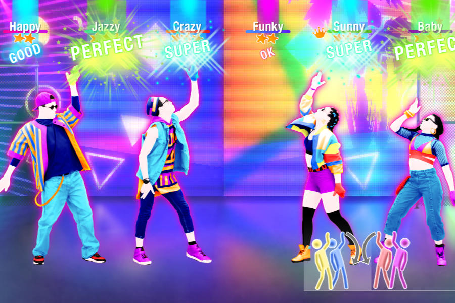 Just Dance 2019 by UbiSoft family game review on Nintendo Switch with new songs