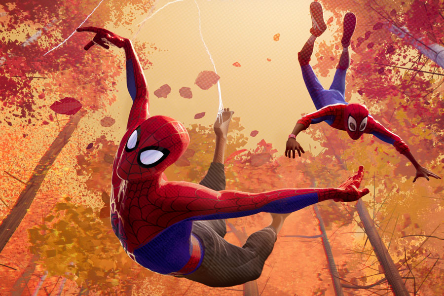 Spider-Man: Into the Spider-Verse Movie Review for Families. Peter Parker and Miles Morales